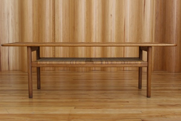 AT10 coffee table by Hans Wegner for Andreas Tuck, 1950s