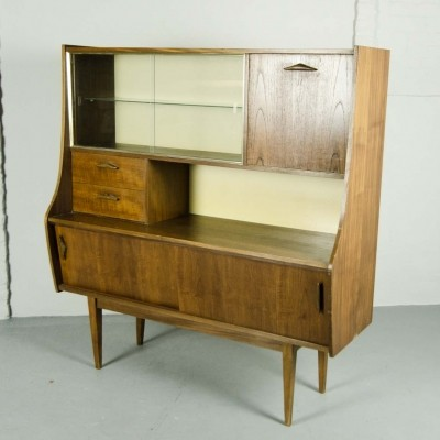 Danish Teak Cabinet / Showcase, 1960s