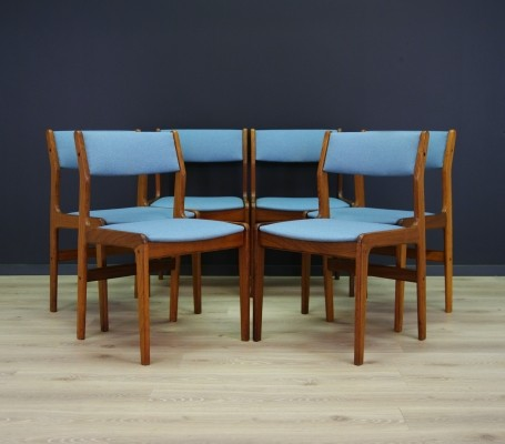 Set of 6 Farstrup dinner chairs, 1960s