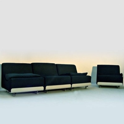 Vintage sofa units by Luigi Colani for COR, 1969