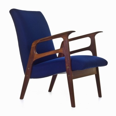 Low back Dutch easy chair, 1950s