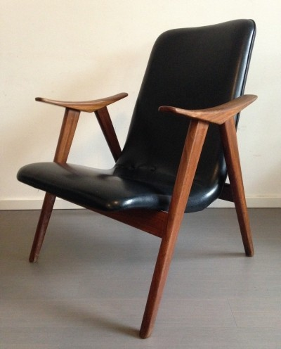 Louis van Teeffelen lounge chair, 1950s