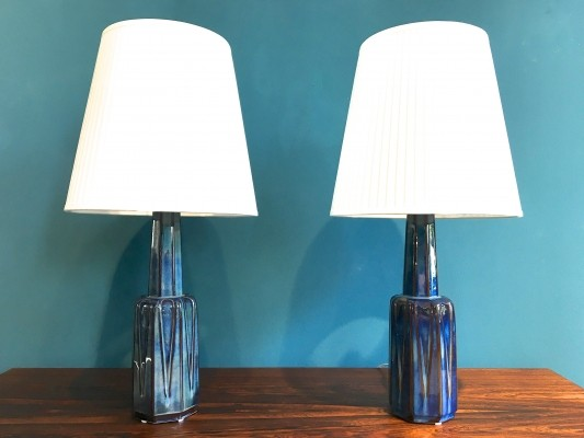 Pair of desk lamps by Einar Johansen for Søholm, 1960s
