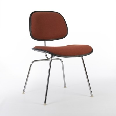Original Herman Miller Eames Upholstered DCM Chair