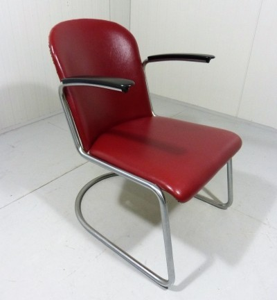 Model 413 lounge chair by W. Gispen for Gispen, 1950s