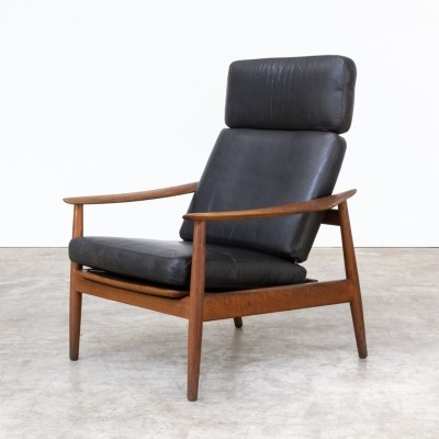 FD-164 lounge chair by Arne Vodder for France & Son, 1960s