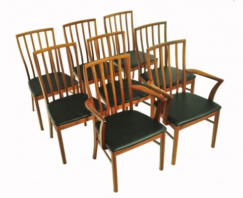 Set of 8 Mcintosh Scotland dinner chairs, 1960s