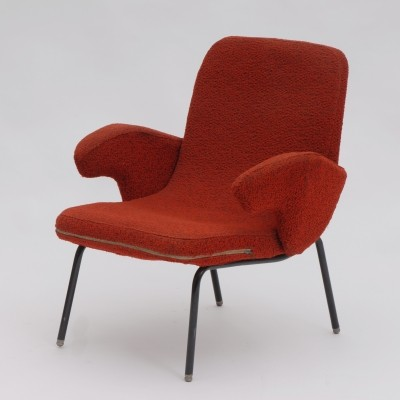 Arm chair by Alan Fuchs for ÚĽUV Praha, 1960s