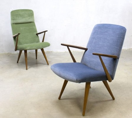 Pair of Akerblom arm chairs, 1950s