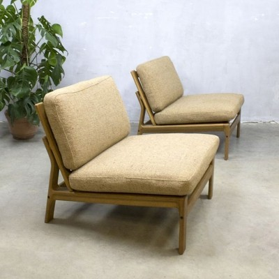 Pair of lounge chairs by Arne Wahl Iversen for Komfort, 1960s