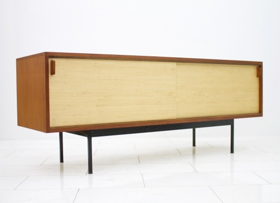Seagrass sideboard by Dieter Waeckerlin for Behr, 1950s