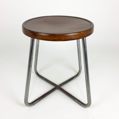 B77 stool by Thonet, 1930s