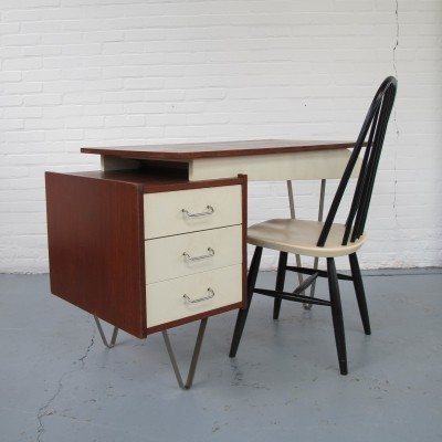 Writing desk by Cees Braakman for Pastoe, 1950s