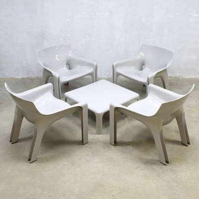 Vicario seating group by Vico Magistretti for Artemide, 1960s
