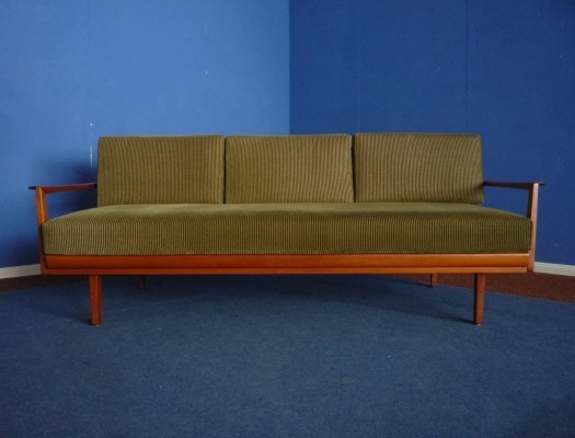 Teak Antimott Daybed by Wilhelm Knoll, 1950s