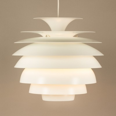 Barcelona hanging lamp by Bent Karlby for Lyfa, 1960s