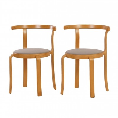 Pair of Danish Dining Chairs by Thygesen & Sørensen for Magnus Olesen, 1981