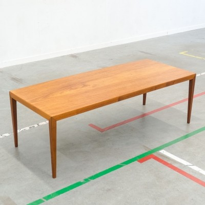 Coffee table by Severin Hansen Jr for Haslev Møbelsnedkeri, 1950s