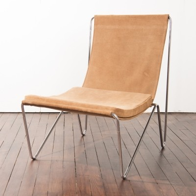 2 x Bachelor lounge chair by Verner Panton for Fritz Hansen, 1950s