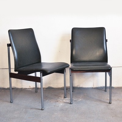 Pair of Fristho dinner chairs, 1950s