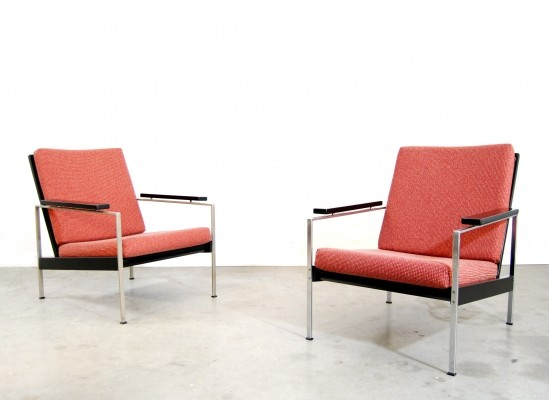 2 x Rob Parry arm chair, 1950s