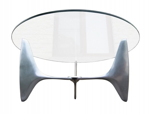 Vintage Knut Hesterberg coffeetable for Ronald Schmitt, 1960s