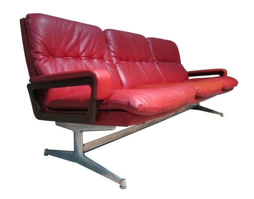 Vintage Strässle international King sofa by André Vandenbeuck, 1965