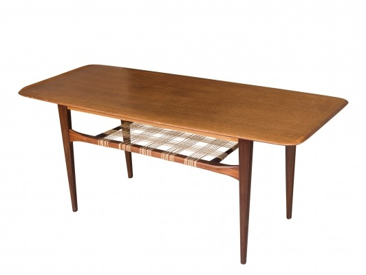 Coffee table in teak by Johannes Andersen, 1960s