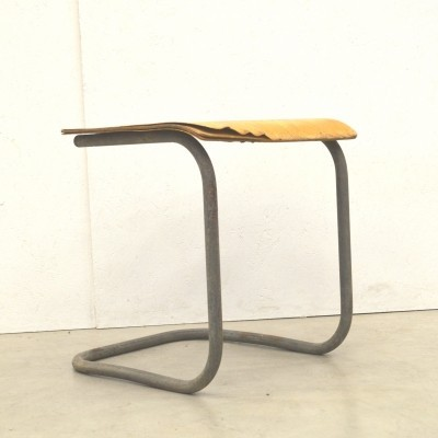 Very rare early Bauhaus Stool by Mart Stam around 1928