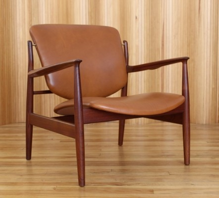 Model 136 lounge chair by Finn Juhl for France & Son, 1950s
