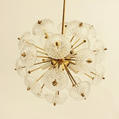 Dandelion Sputnik Light made in Czechoslovakia 1960-1970
