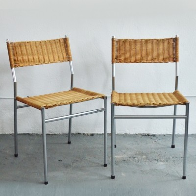 2 x SE05 dinner chair by Martin Visser for Spectrum, 1960s