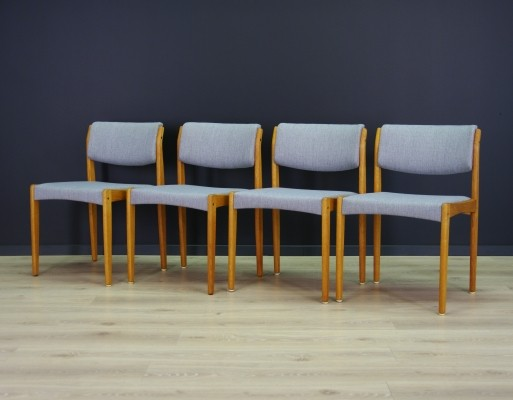 Set of 4 dining chairs by Henry W. Klein for Bramin, 1960s