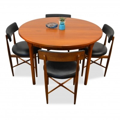 G-Plan teak dining set, 1960s