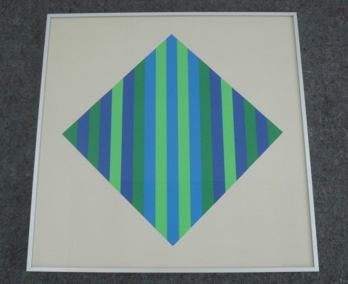 Graphic Screen Printing by Johan van den Berg, 1980's