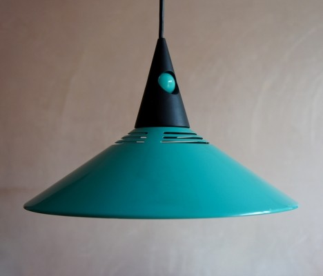 Post modern pendant light, 1980s