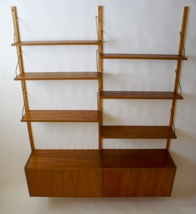 Danish PS System Shelving by Preben Sorensen, 1960s
