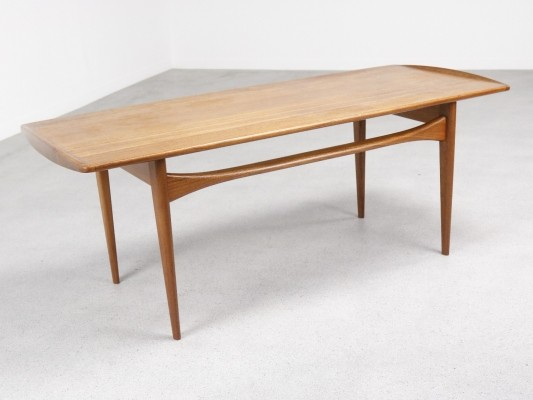 FD 503 coffee table by Tove Kindt Larsen & Edvard Kindt Larsen for France & Son, 1950s