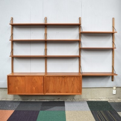 Poul Cadovius Royal Teak Wall Unit - Denmark