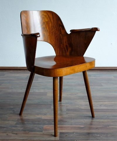 Dinner chair by Oswald Haerdtl for Ton N. P. Bystřice pod Hostýnem, 1950s