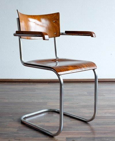 Dinner chair by Mart Stam for Thonet, 1920s