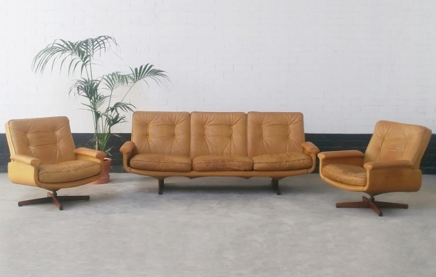 No. 126 seating group by Sigurd Resell for Vatne Møbler, 1970s