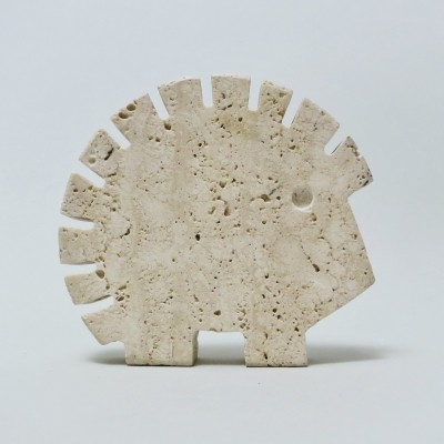 Hedgehogg Travertine sculpture by Fratelli Mannelli for Fratelli Manelli, 1970s