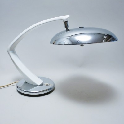 Boomerang desk lamp by Fase, 1960s