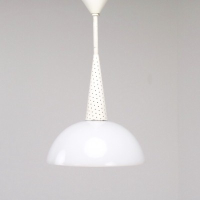 Hanging lamp by Mathieu Matégot for Holophane, 1950s
