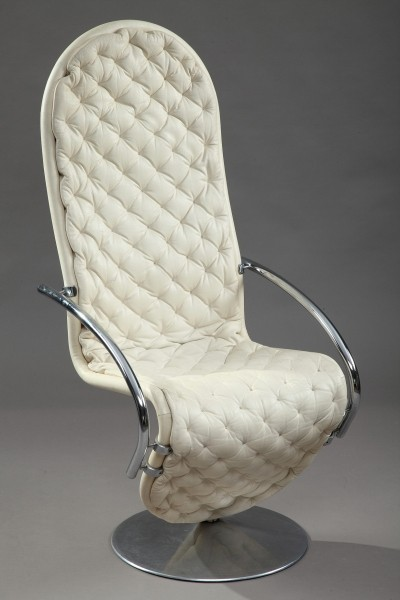 3 x 1-2-3 System arm chair by Verner Panton for Fritz Hansen, 1970s