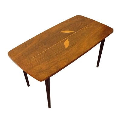 Side coffee table made in the 1960s