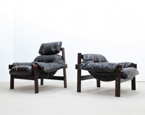 Pair of Percival Lafer arm chairs, 1950s