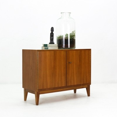 Walnut Sideboard With Two Doors by WK, 1950s