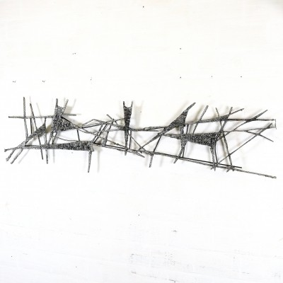 Wall sculpture by Pia Manu, 1960s